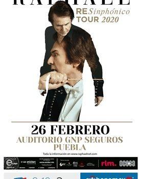 Raphael La Superestrella Internacional se presentará en Puebla en 2020