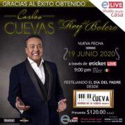 Carlos Cuevas: Íntimamente en cuarentena