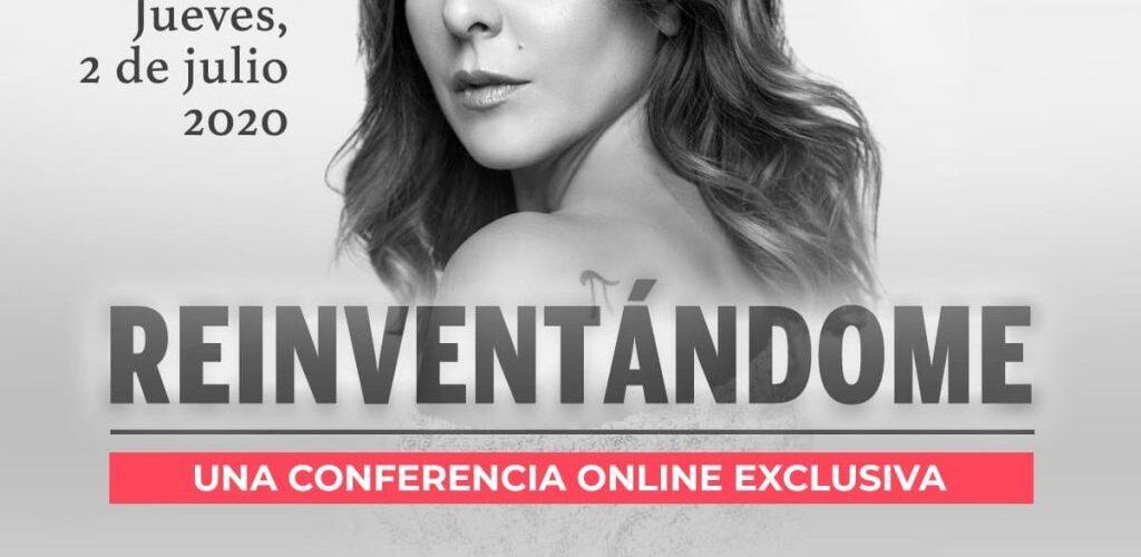 Conferencia virtual de Kate del Castillo.