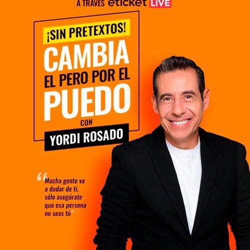 Yordi Rosado en conferencia virtual.