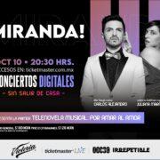 Miranda! vuelve a los escenarios de manera virtual con un show IRREPETIBLE presentando la primer telenovela musical: Por Amar Al Amor