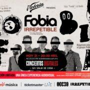 Fobia ofrecerá un show IRREPETIBLE
