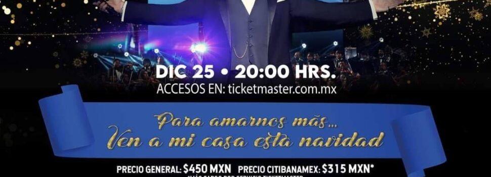 Mijares ofrecerá un concierto sinfónico IRREPETIBLE