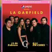 """El próximo 13 de febrero La Garfield llegará a Sala Estelar para presentar """"Tú no sabes querer"""" y """"Amor"""""""