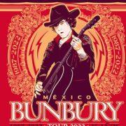 Enrique Bunbury suma dos nuevas fechas a su gira, una en la CDMX y otra en Guadalajara